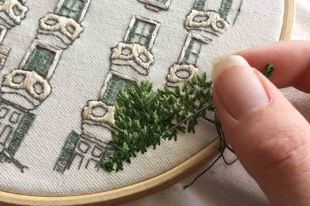 How to do Embroidery Header