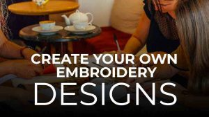 Create Your Own Embroidery Design Charles and Elin
