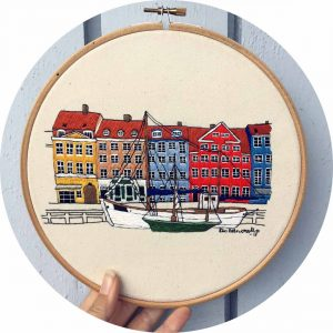 Nyhavn Copenhagen Close Up