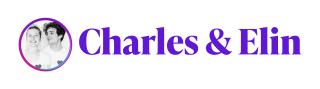 Purple Logo Charles and Elin