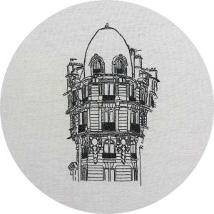 Avenue Daumesnil Embroidery Design