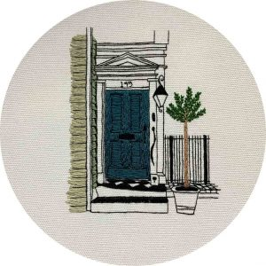 Charleston Hand Embroidery Design Charles and Elin