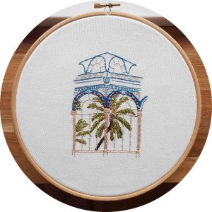 Crystal Palace of Madrid Embroidery
