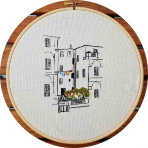 Italian Building Embroidery