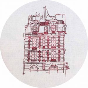 Place Dauphine Embroidery Design