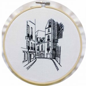 Rue Aboukir Embroidery Design