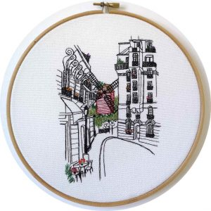 Rue Lepic Embroidery