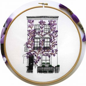 South Kensington Embroidery Design