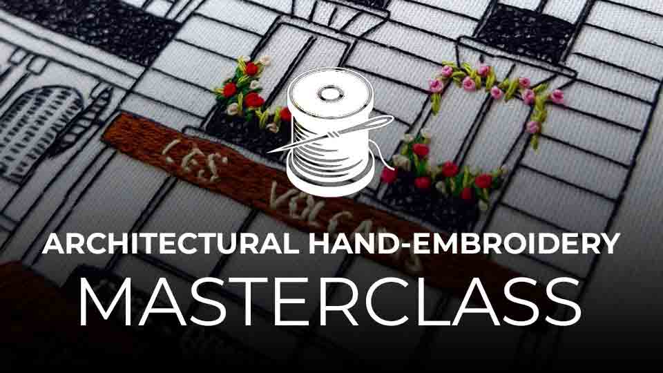 Online Courses Architectural Hand Embroidery