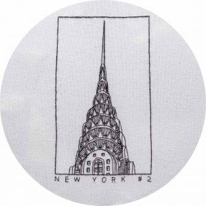 Chrysler-Building-Hand-Embroidery-Design-by-Charles-and-Elin
